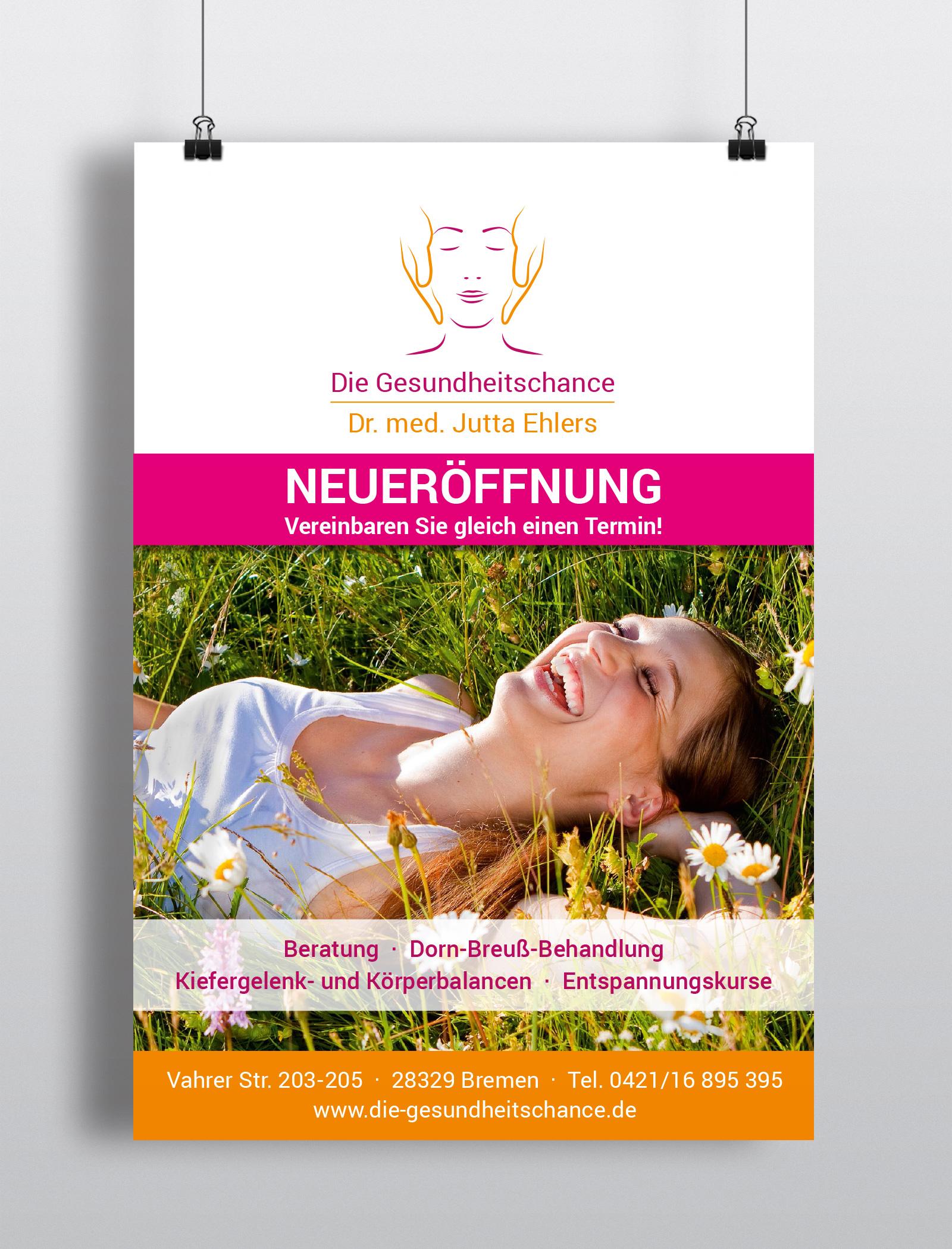 webdesign und Plakatgestaltung: readymade Werbeagentur Bremen und Verden