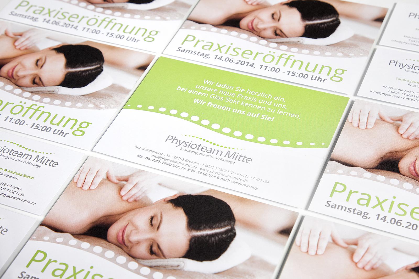 Geschäftsausstattung mit Flyer gestalten lassen bei Ihrer Werbeagentur in Verden und Bremen