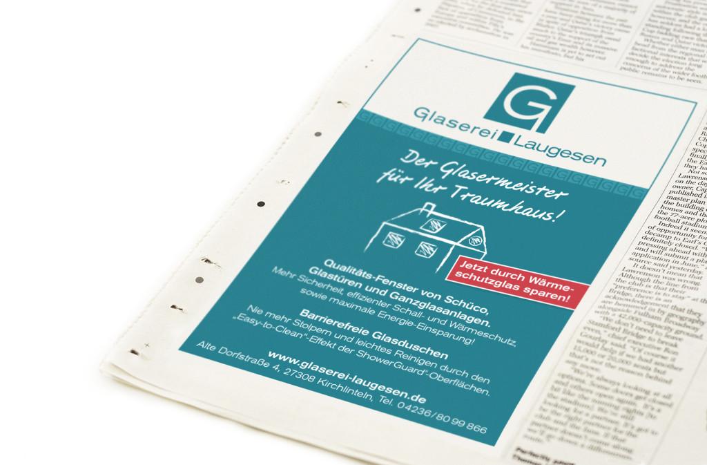 Anzeigengestaltung: readymade Werbeagentur Bremen und Verden