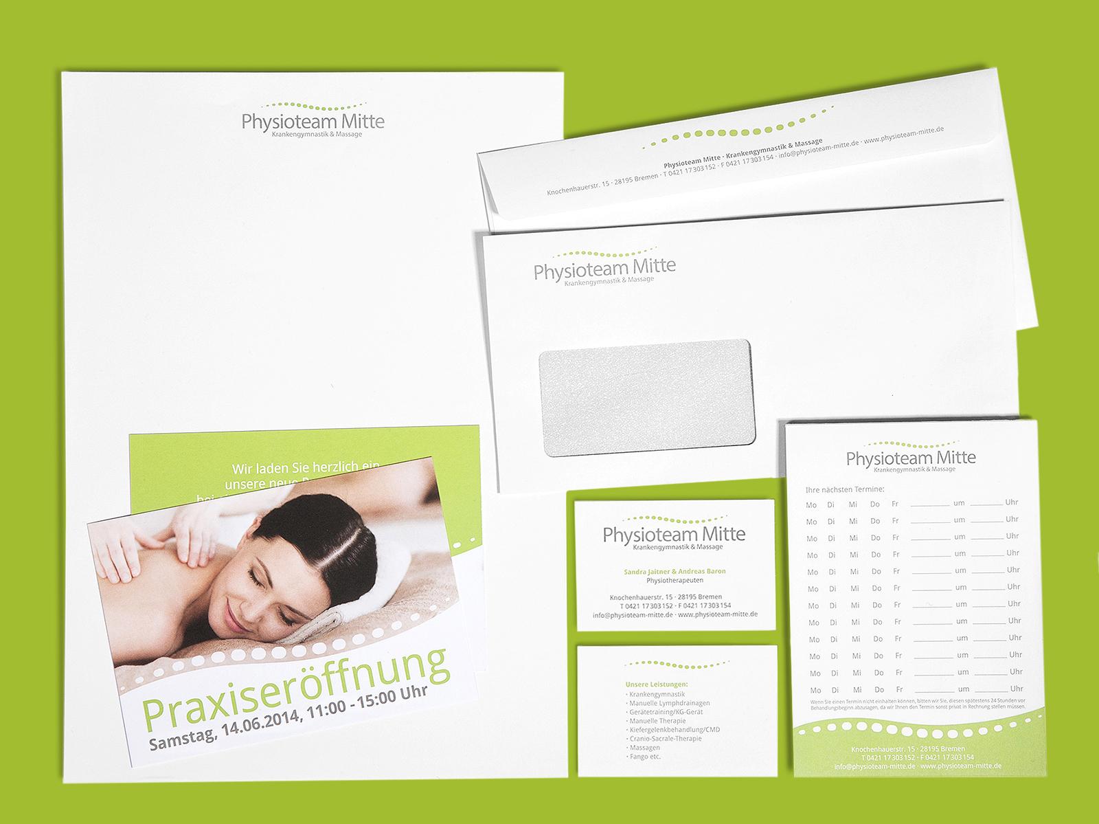 Geschäftsausstattung mit Visitenkarten gestalten lassen bei Ihrer Werbeagentur in Verden und Bremen