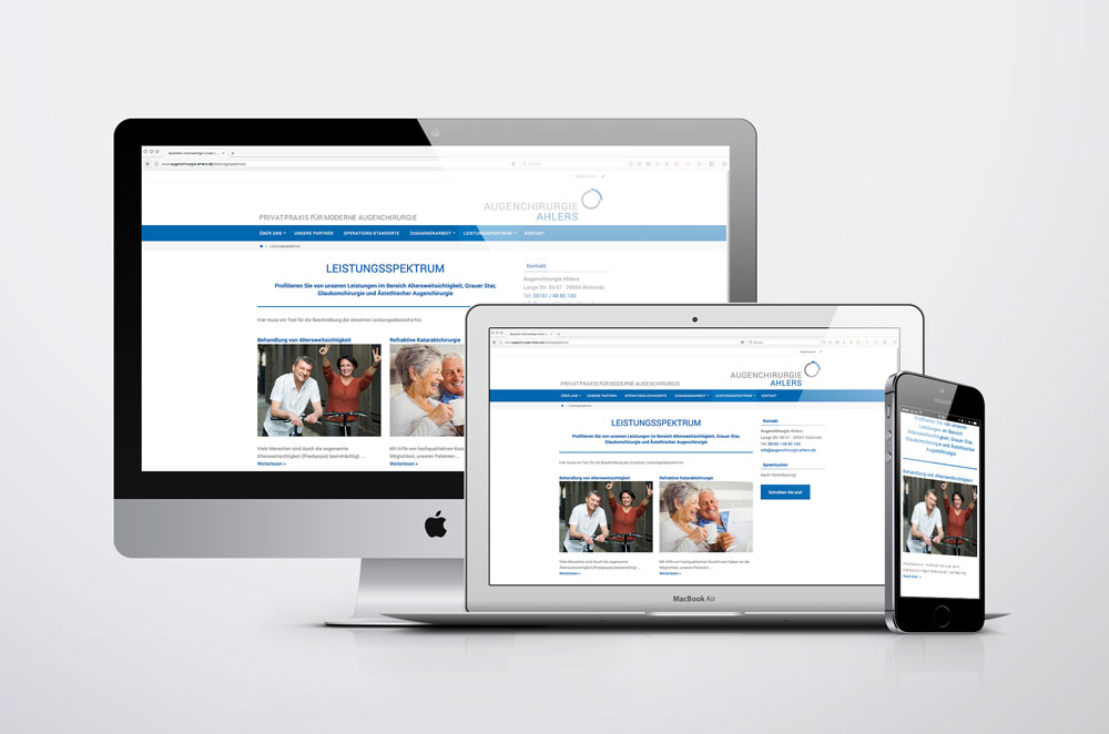 Responsive-Webseite-Augenchirurgie-Ahlers